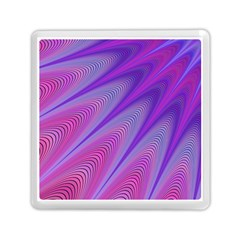 Purple Star Sun Sunshine Fractal Memory Card Reader (square)  by BangZart
