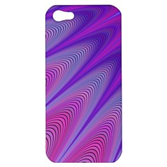 Purple Star Sun Sunshine Fractal Apple Iphone 5 Hardshell Case