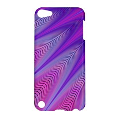 Purple Star Sun Sunshine Fractal Apple Ipod Touch 5 Hardshell Case