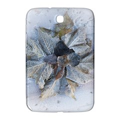 Winter Frost Ice Sheet Leaves Samsung Galaxy Note 8 0 N5100 Hardshell Case  by BangZart