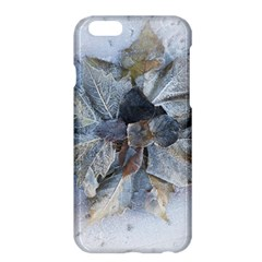 Winter Frost Ice Sheet Leaves Apple Iphone 6 Plus/6s Plus Hardshell Case