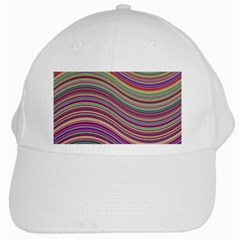 Wave Abstract Happy Background White Cap
