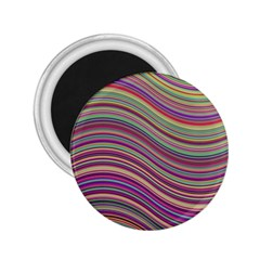 Wave Abstract Happy Background 2.25  Magnets
