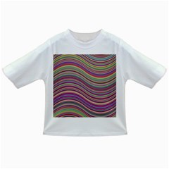 Wave Abstract Happy Background Infant/Toddler T-Shirts
