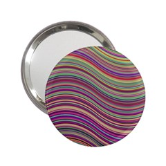 Wave Abstract Happy Background 2.25  Handbag Mirrors
