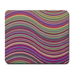 Wave Abstract Happy Background Large Mousepads