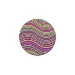 Wave Abstract Happy Background Golf Ball Marker (10 pack)