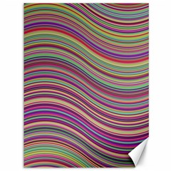 Wave Abstract Happy Background Canvas 36  x 48