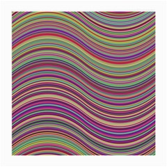 Wave Abstract Happy Background Medium Glasses Cloth (2-Side)