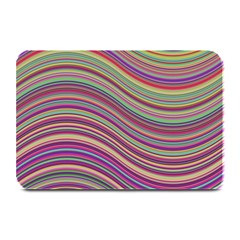Wave Abstract Happy Background Plate Mats