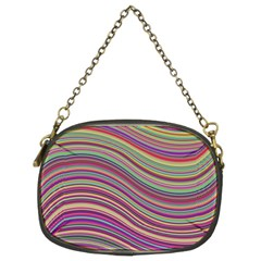 Wave Abstract Happy Background Chain Purses (Two Sides)