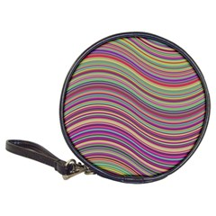Wave Abstract Happy Background Classic 20-CD Wallets