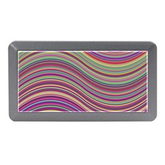 Wave Abstract Happy Background Memory Card Reader (Mini)