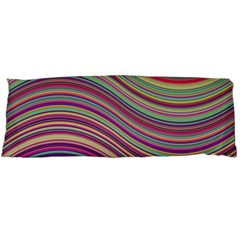 Wave Abstract Happy Background Body Pillow Case (Dakimakura)