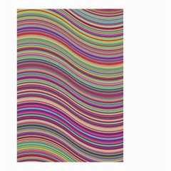 Wave Abstract Happy Background Small Garden Flag (Two Sides)