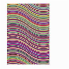Wave Abstract Happy Background Large Garden Flag (Two Sides)