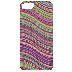 Wave Abstract Happy Background Apple iPhone 5 Classic Hardshell Case