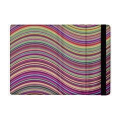 Wave Abstract Happy Background Apple iPad Mini Flip Case