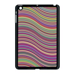 Wave Abstract Happy Background Apple iPad Mini Case (Black)