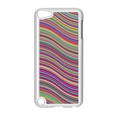 Wave Abstract Happy Background Apple Ipod Touch 5 Case (white)