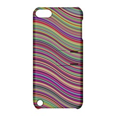 Wave Abstract Happy Background Apple iPod Touch 5 Hardshell Case with Stand