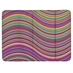 Wave Abstract Happy Background Samsung Galaxy Tab 7  P1000 Flip Case