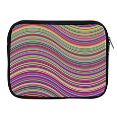 Wave Abstract Happy Background Apple iPad 2/3/4 Zipper Cases