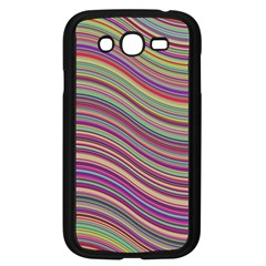 Wave Abstract Happy Background Samsung Galaxy Grand DUOS I9082 Case (Black)