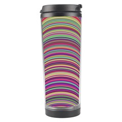 Wave Abstract Happy Background Travel Tumbler