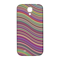 Wave Abstract Happy Background Samsung Galaxy S4 I9500/I9505  Hardshell Back Case