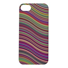 Wave Abstract Happy Background Apple iPhone 5S/ SE Hardshell Case