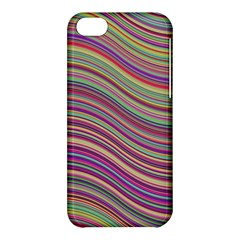 Wave Abstract Happy Background Apple iPhone 5C Hardshell Case