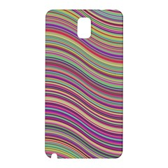Wave Abstract Happy Background Samsung Galaxy Note 3 N9005 Hardshell Back Case