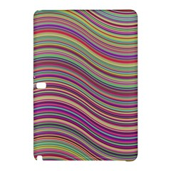 Wave Abstract Happy Background Samsung Galaxy Tab Pro 10.1 Hardshell Case