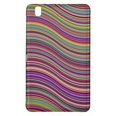 Wave Abstract Happy Background Samsung Galaxy Tab Pro 8.4 Hardshell Case