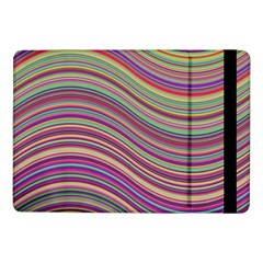 Wave Abstract Happy Background Samsung Galaxy Tab Pro 10.1  Flip Case