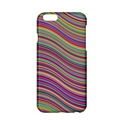 Wave Abstract Happy Background Apple iPhone 6/6S Hardshell Case