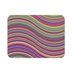 Wave Abstract Happy Background Double Sided Flano Blanket (Mini)