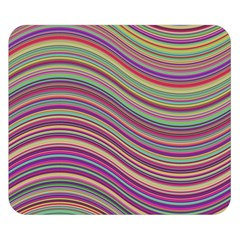 Wave Abstract Happy Background Double Sided Flano Blanket (Small)