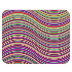 Wave Abstract Happy Background Double Sided Flano Blanket (Medium)