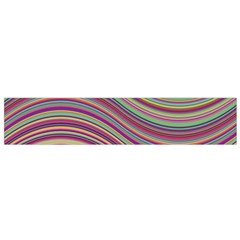 Wave Abstract Happy Background Small Flano Scarf