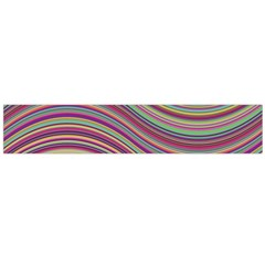 Wave Abstract Happy Background Large Flano Scarf