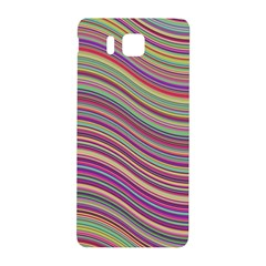 Wave Abstract Happy Background Samsung Galaxy Alpha Hardshell Back Case