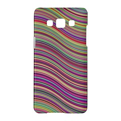 Wave Abstract Happy Background Samsung Galaxy A5 Hardshell Case