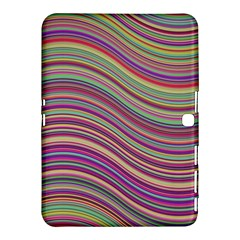 Wave Abstract Happy Background Samsung Galaxy Tab 4 (10.1 ) Hardshell Case