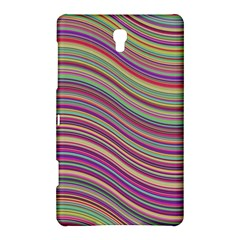 Wave Abstract Happy Background Samsung Galaxy Tab S (8.4 ) Hardshell Case