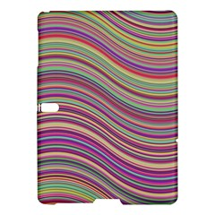 Wave Abstract Happy Background Samsung Galaxy Tab S (10.5 ) Hardshell Case