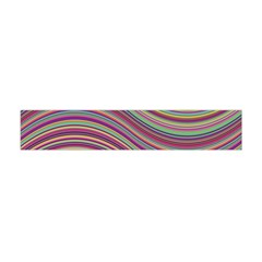 Wave Abstract Happy Background Flano Scarf (Mini)