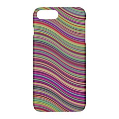 Wave Abstract Happy Background Apple iPhone 7 Plus Hardshell Case