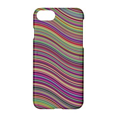 Wave Abstract Happy Background Apple iPhone 7 Hardshell Case